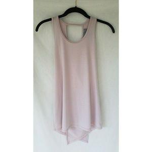 Athleta soft lilac wrap top
